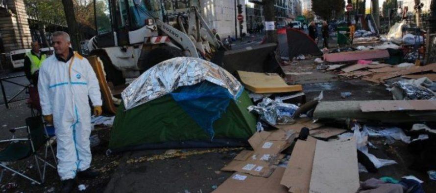 Migrants in Paris BLAME EUROPE for Refugee Crisis