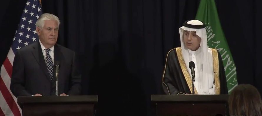 Saudi Arabia's Foreign Minister Just PISSED OFF Liberals Using Just 3 Words!