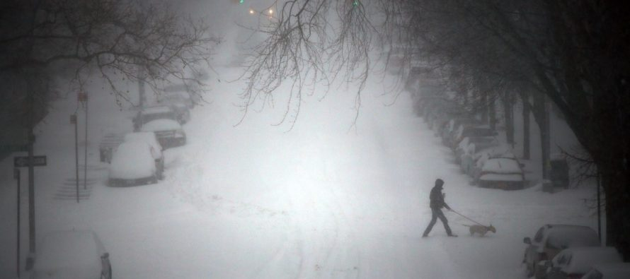 Climate Change Alarmists Have To Postpone HUGE Rally…Because Of Snow Storm!