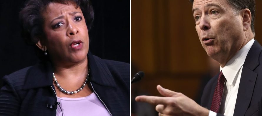 Stunned: Loretta Lynch Faces 'Investigation' After Comey Testimony