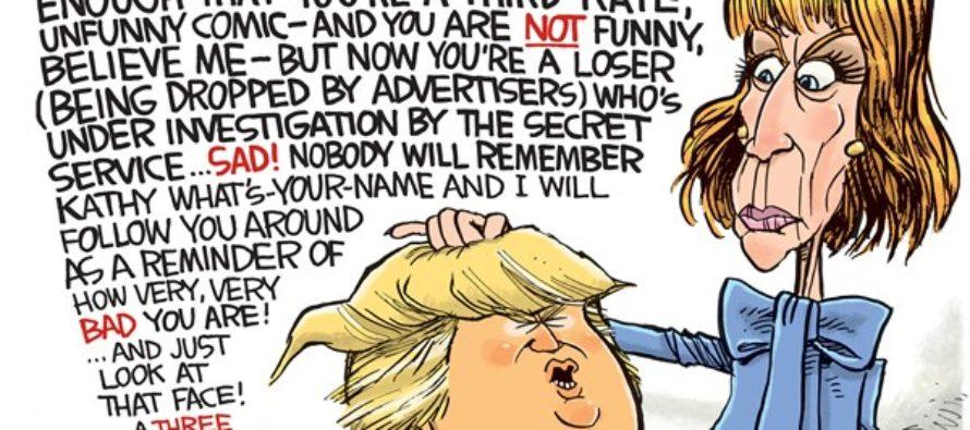 Trump Head (Cartoon)