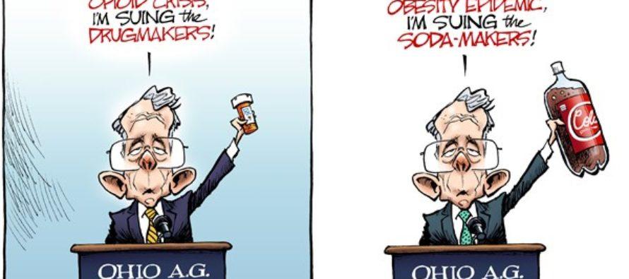 LOCAL OH Opioid Lawsuit (Cartoon)