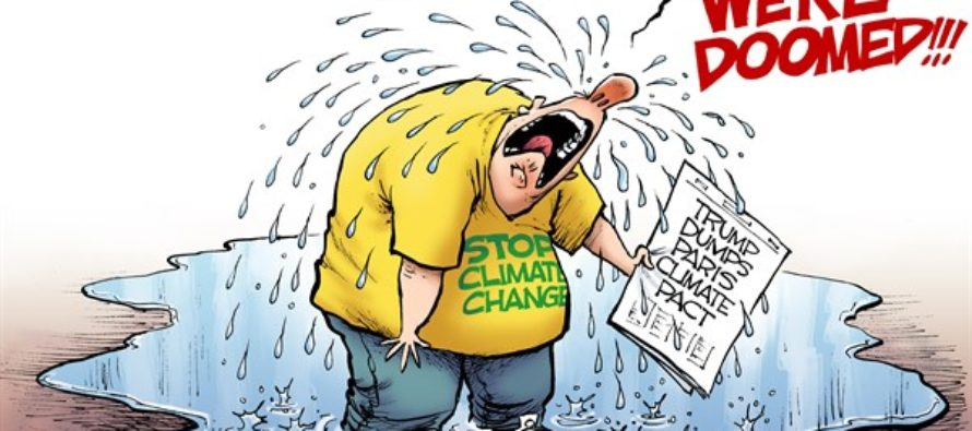 Climate Tears (Cartoon)