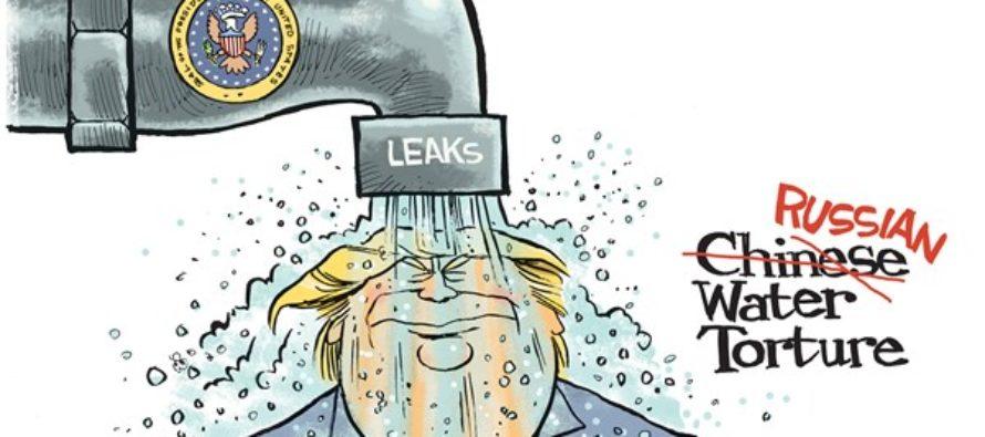 Trump Leaks (Cartoon)