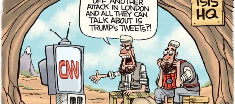 Trump London (Cartoon)