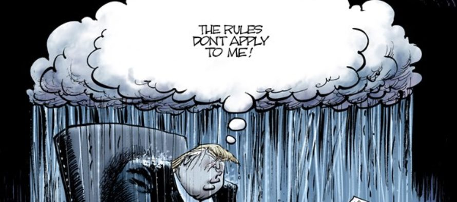 Trump Cloud (Cartoon)