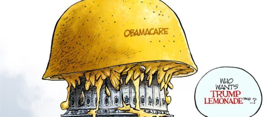 Obamacare Lemon (Cartoon)