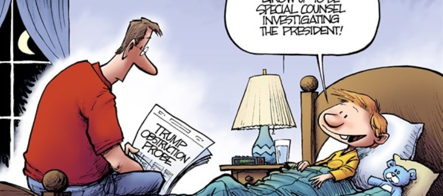 Presidential Example (Cartoon)
