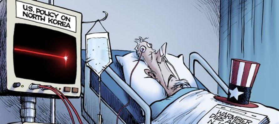 Otto Warmbier (Cartoon)