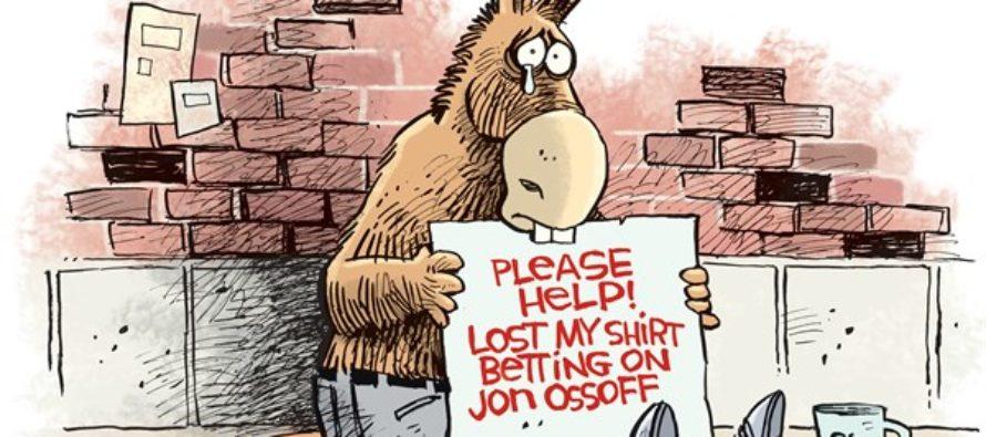 Ossoff Bet (Cartoon)