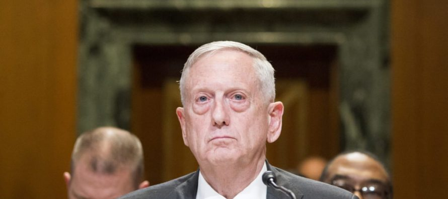 James Mattis: The Biggest Threat to the Military Is Not on the Battlefield, It's in Washington