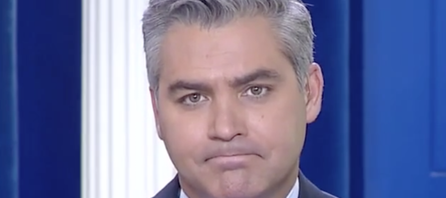 CNN's Jim Acosta Gets Desperate – Starts HECKLING Sean Spicer During Briefing [AUDIO]