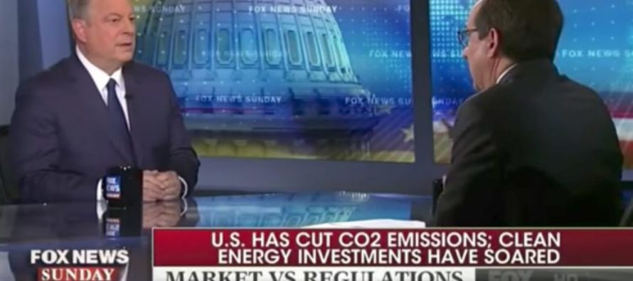 WATCH: Chris Wallace Confronts Al Gore on Phony Climate Change Claims
