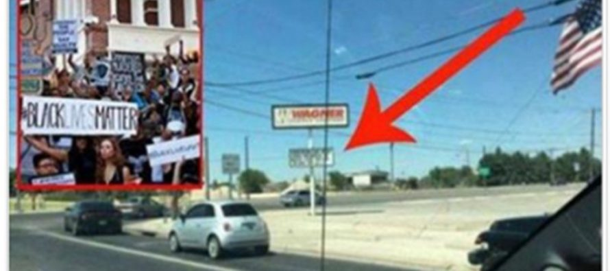 Black Lives Matter are Outraged Over a Huge Sign in Texas — THIS is Hilarious!