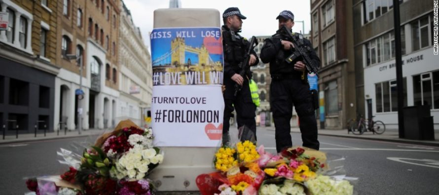 Every Liberal Needs to See What UNARMED Cops Did During London Terror
