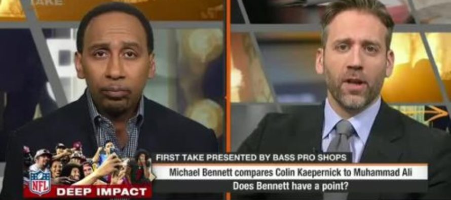 """ESPN Host Claims Using The National Anthem At Football Games Is Now """"Political"""" [VIDEO]"""