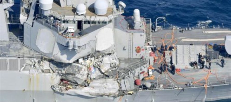 TRAGEDY: Divers Find Seven Missing Navy Sailors Inside Wreck of USS Fitzgerald [VIDEO]