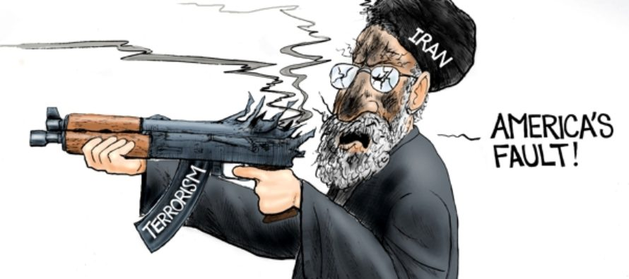 Mullahs Who Live in Glass Houses (Cartoon)