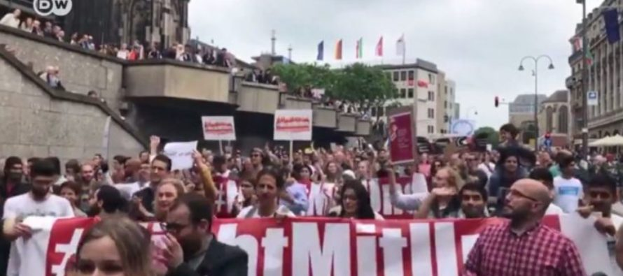 10,000 Muslims Committed To March AGAINST Terrorism – Guess How Many Showed Up [VIDEO]