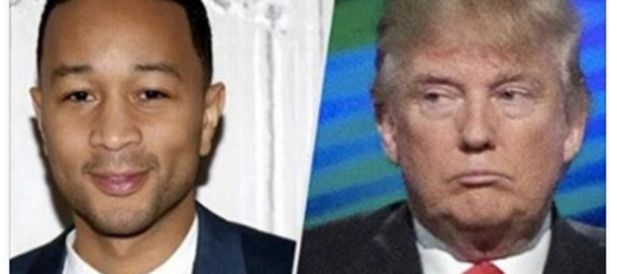 "John Legend Calls Trump ""The Worst President Ever"" Then What He Says About Obama"