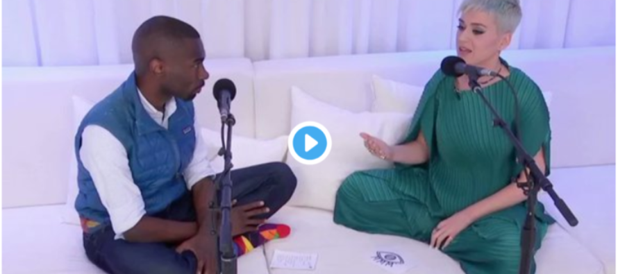 WATCH: Katy Perry Sits Down With Black Lives Matter To Apologize For Being Who She Is [VIDEO]