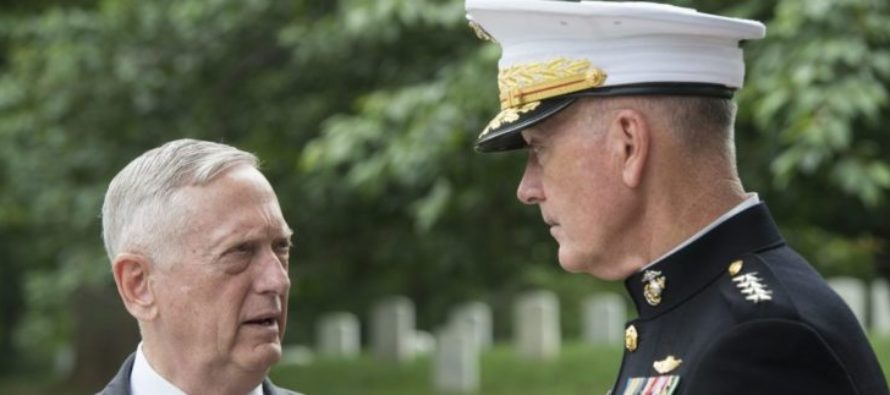 MATTIS Tells Generals FORGET Obama's Anti-ISIS Strategy Plan – It's Time To ANNIHILATE Them!