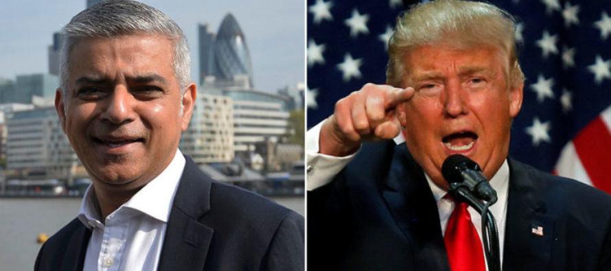 Trump Blasted London's Muslim Mayor After Terror Attacks [VIDEO]