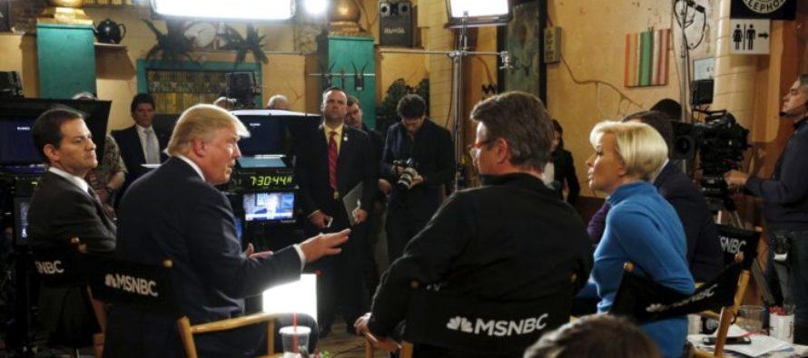 MSNBC's Mika Was 'Bleeding'