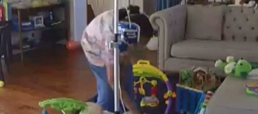 Parents Helplessly Watch In HORROR What's Happening On Their Nanny Cam – Then Call The Cops [VIDEO]