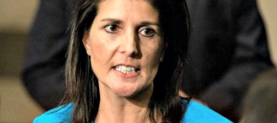Nikki Haley Brings The House DOWN, Tells World U.S. Doesn't Need Their Advice!