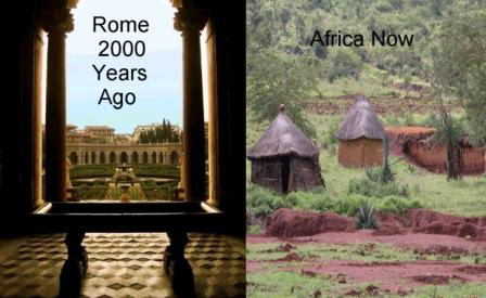Rome-2000-Years-Ago-Africa-Today