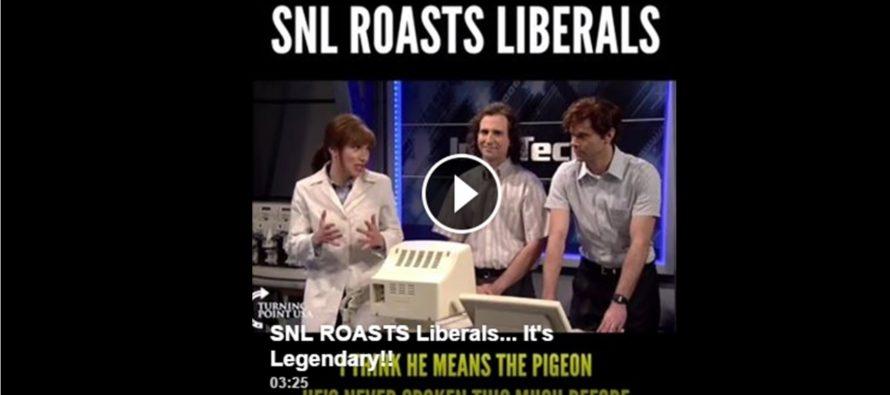 Saturday Night Live ROASTS Liberals… Legendary