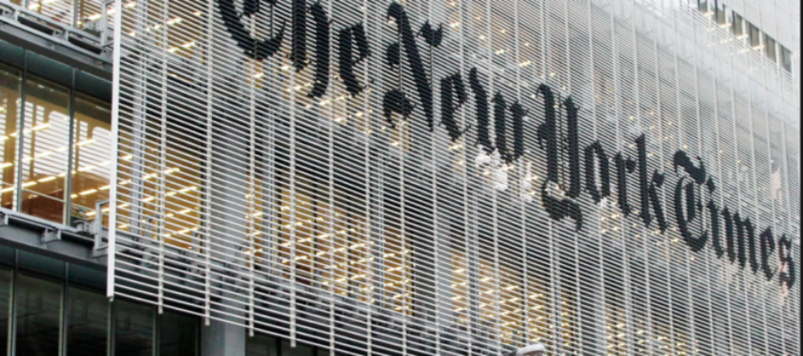 Look Who's Suing the NYT for Defamation
