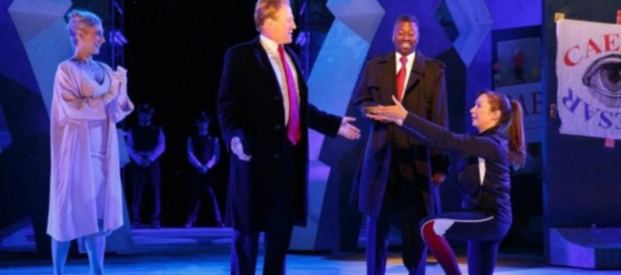 SICK: Trump Graphically Stabbed to Death in NYC Performance