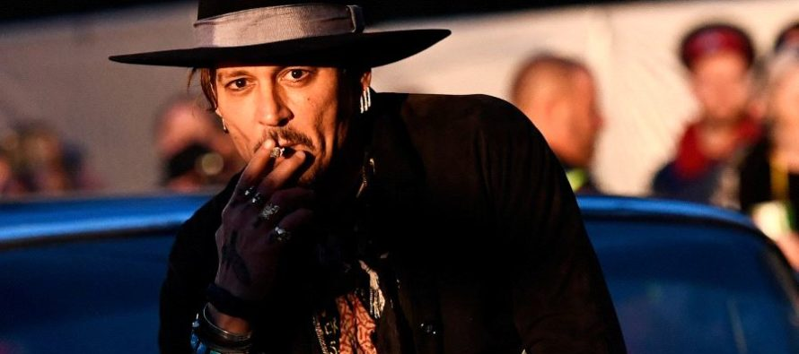 Johnny Depp Poses A Question: 'When Was The Last Time An Actor Assassinated a President?' [VIDEO]