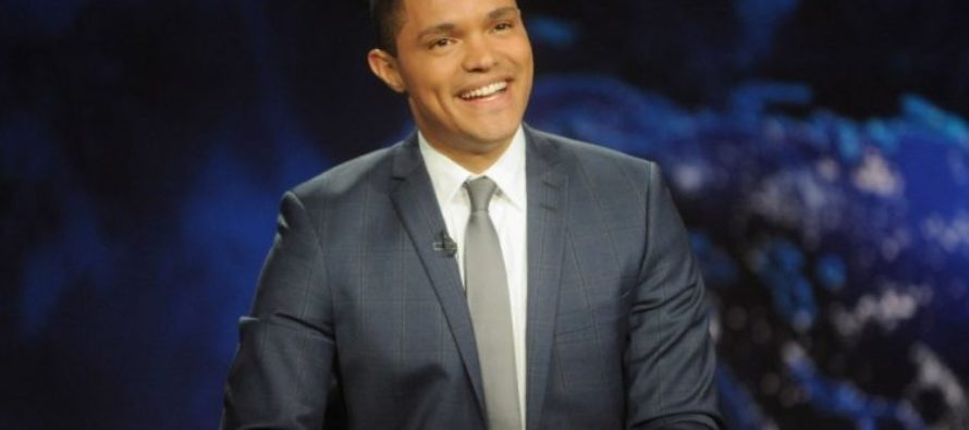 CRINGE: Trevor Noah in a Panic that Trump Will Cause Flowers to Go Extinct [VIDEO]