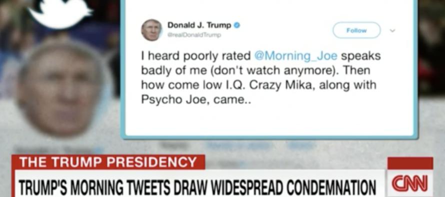 WATCH: CNN Panel Has FULL MELTDOWN Over Trump's Tweets