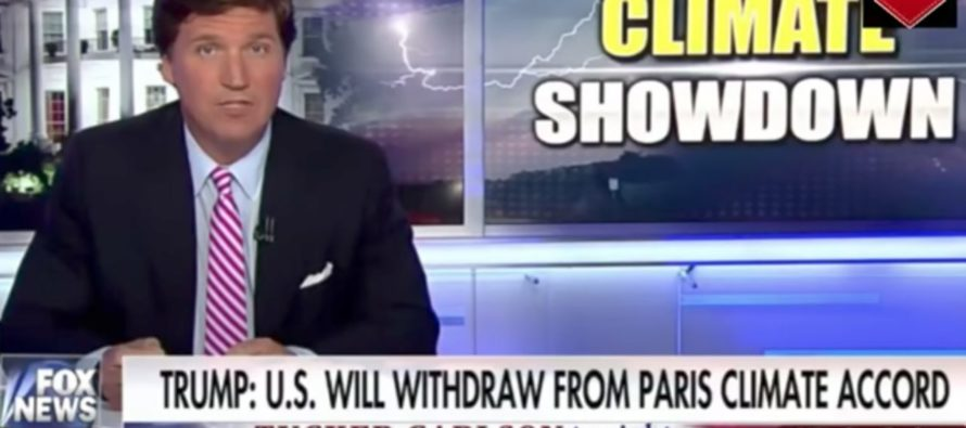 WHOA! In 90 Seconds, Tucker Carlson TAKES DOWN Liberal Hypocrisy On Climate Change!