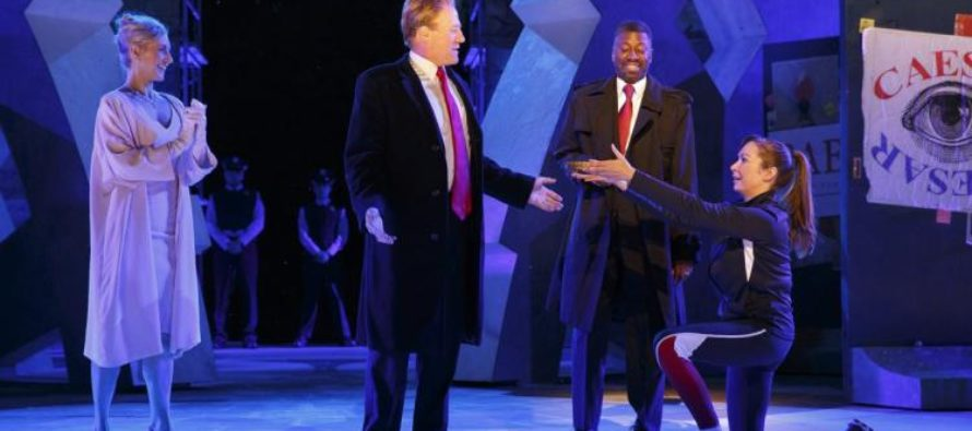 Bank of America DROPS Sponsorship Of NYC Public Theater After Onstage 'TRUMP STABBING'
