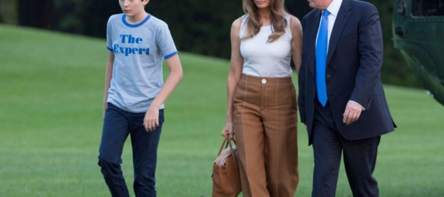 Barron Trump Not In White House For Even 24 Hours Yet And Look What Has Happened