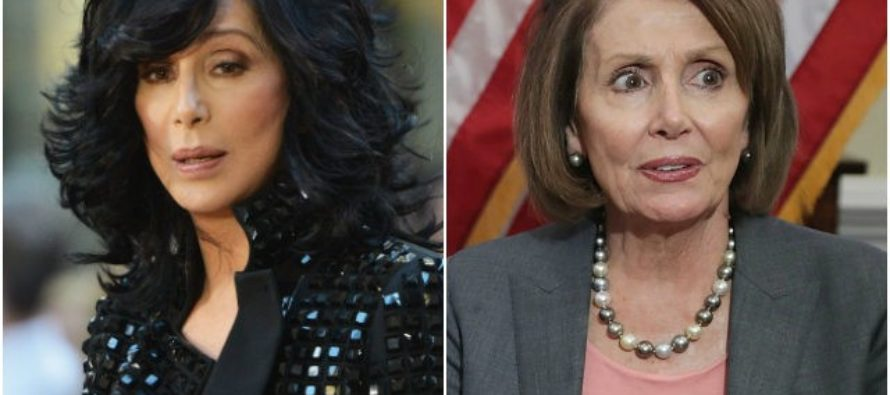 CHER Turns On Nancy Pelosi