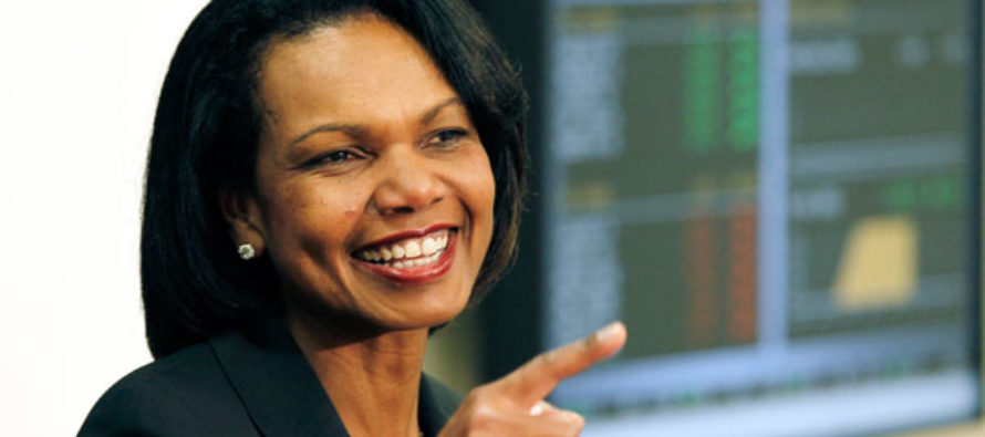 Condi Comes Out Swinging – Makes MAJOR Statement on Trump (VIDEO)