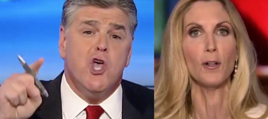 Ann Coulter Criticizes Hannity on Trump; He OBLITERATES Her!