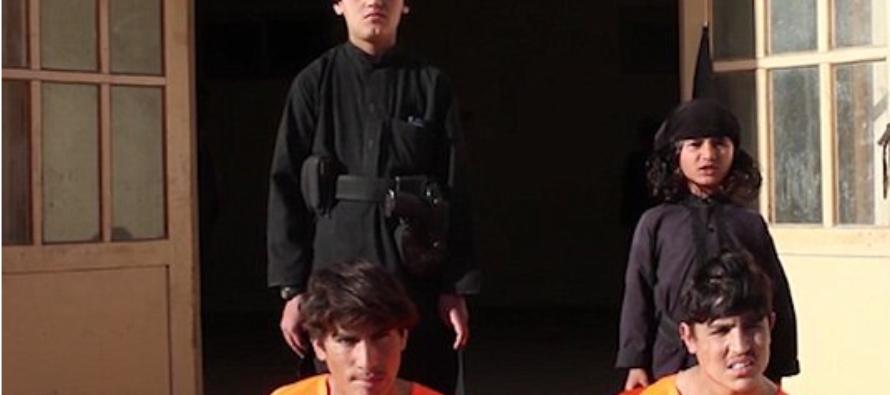 VIDEO: Brainwashed CHILDREN Murder Prisoners in Evil new ISIS Film