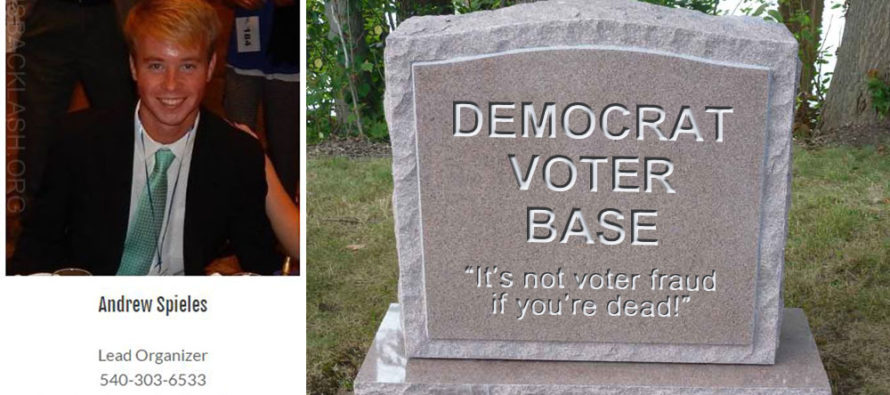 Liberal Student Goes to Prison After Registering Dead Voters for Democrats