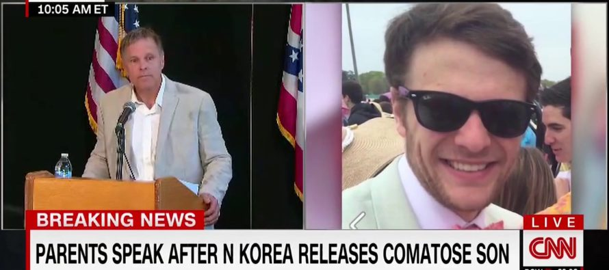 After Son Is Freed From N. Korea Father Puts Obama In Check, While PRAISING Trump For Results [WATCH]