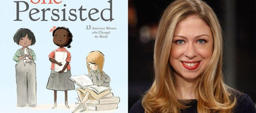 "WATCH: Chelsea Clinton Asked To Sign Book ""She Persisted"" For Juanita Broaddrick"