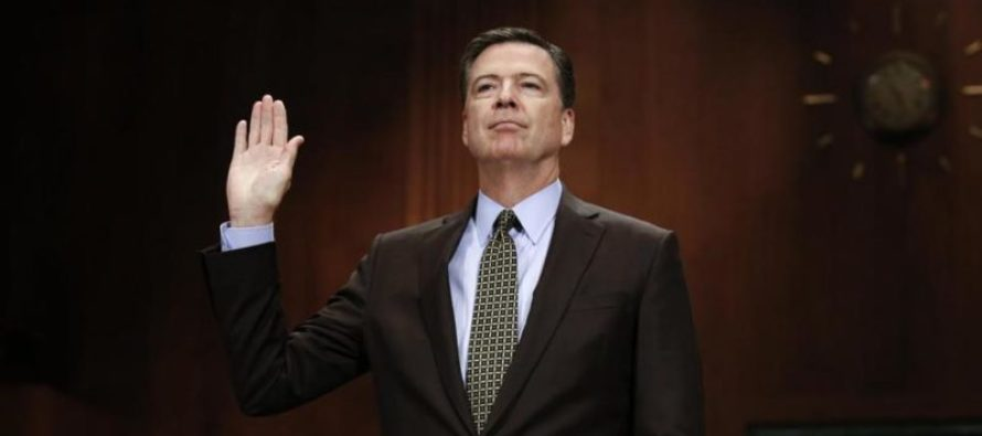 COMEY TESTIMONY: Lynch Directed Me to DOWNPLAY Clinton Email Probe