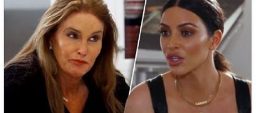 "Is THIS the End for Bruce ""Caitlyn"" Jenner? Kim Kardashian Threatens Him on TV"