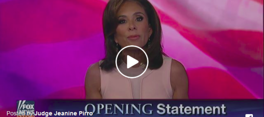 Judge Jeanine to GOP: 'You're in Power, Damn It! Do Something, Pass Something!' [VIDEO]